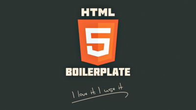 HTML5 Boilerplate : l'ultime template !