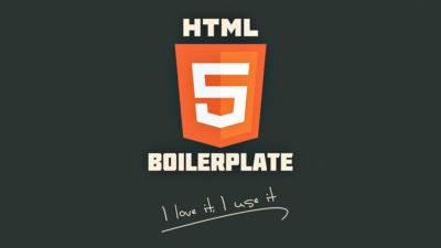 HTML5 Boilerplate : l'ultime template!