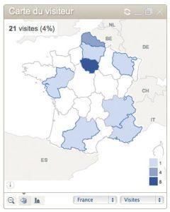 Une cartographie pour la France