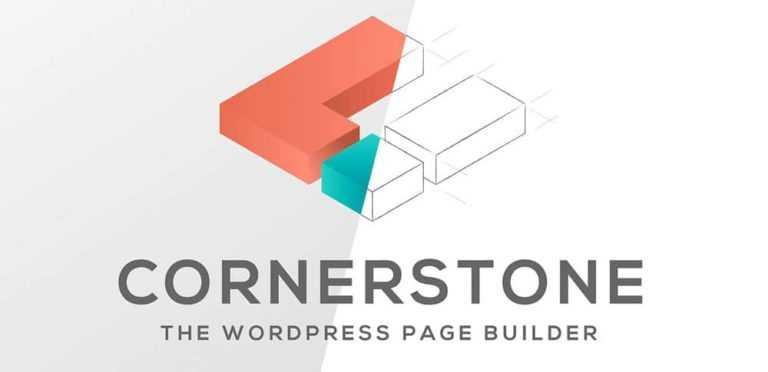 ThemeX WordPress: nouveau page builder <b>Cornerstone</b>