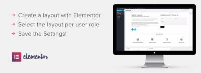 Dashboard Welcome for Elementor : personnalisez votre administration WordPress