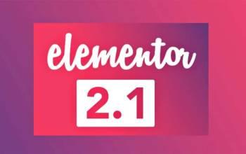 Elementor 2.1: une montée en puissance bienvenue!