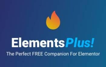 Elements Plus! : Elementor en fait plus!