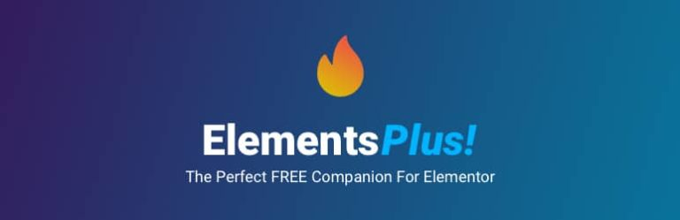 Elements Plus! : <i>Elementor en fait <b>plus !</b></i>