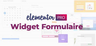 Elementor PRO 2.10: un formulaire à étapes et des animations Lotties au menu