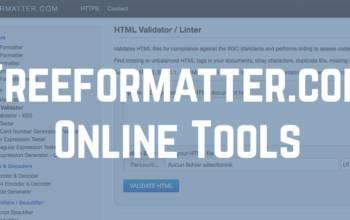 Freeformatter.com: formater son code c'est mieux…