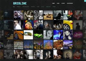 Thème WordPress Gridline