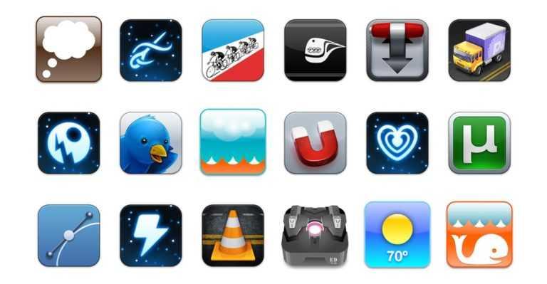 Des icônes pour Mac <b>à gogo:</b>
