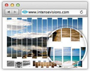 Effet PicStrip sur image