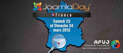 Joomladay 2013 : c'est à Toulouse