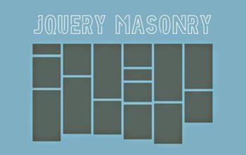jQuery Masonry: les colonnes dynamiques