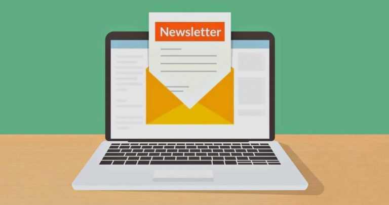 La lettre d'information ou «<b>Newsletter</b>«