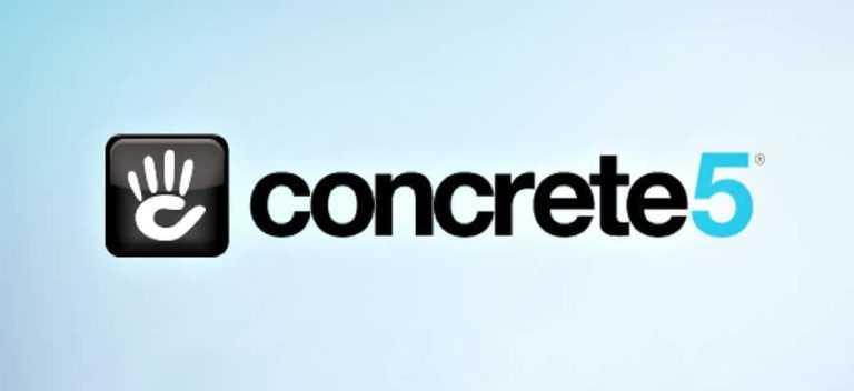 Concrete5 un <b>petit nouveau…</b>