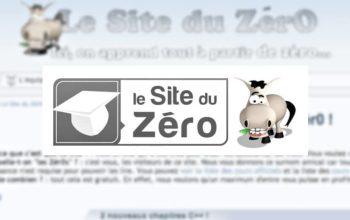 Le site du Zéro n'est plus…