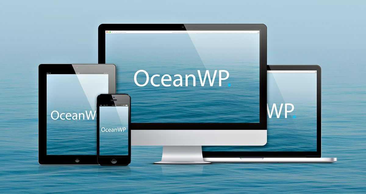 Thème OceanWP pour WordPress