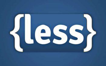 Less CSS: simplifiez-vous les styles!