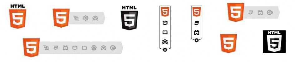 Le nouveau logotype HTML5