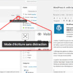 Le mode sans disctration de WordPress 4.1