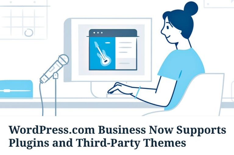 WordPress.com permet l'utilisation de toutes les extensions et thèmes du marché