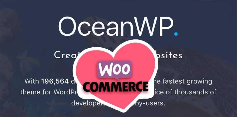 OceanWP 1.5 aime Woocommerce