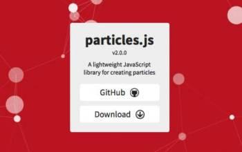 Particles.js: faire une belle page d'attente animée