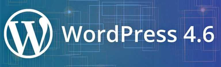 WordPress 4.6: <b>Release Candidate</b>