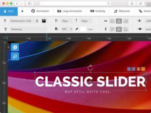 Slider Revolution Classic