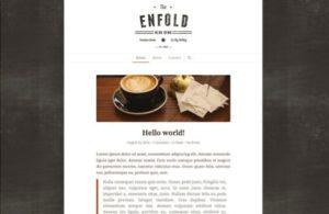 Site de démonstration Enfold