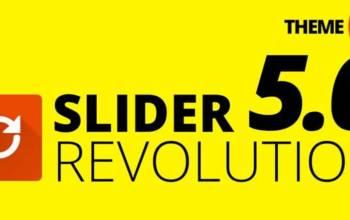 Slider Revolution v5.0: c'est la révolution!