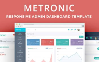METRONIC for Bootstrap : la totale !