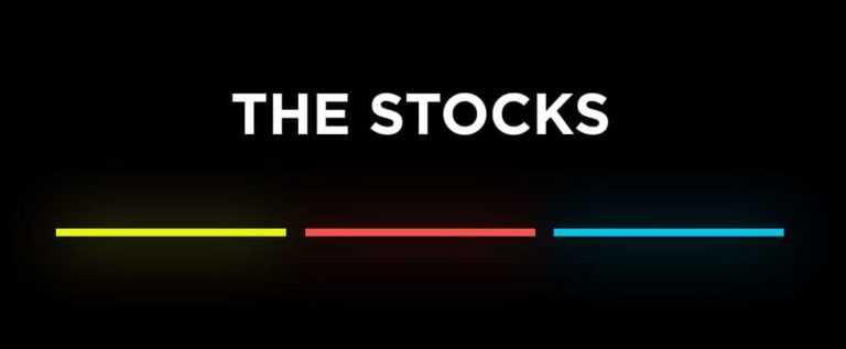 The Stocks : faire son marché webdesign