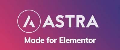 Astra thème gratuit: un bon compagnon pour Elementor