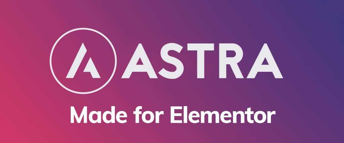 ASTRA - Thème gratuit pour WordPress