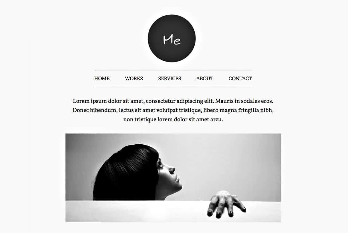 Thème WordPress Me