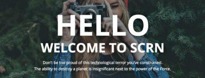 Thème WordPress SCRN: la touch attitude