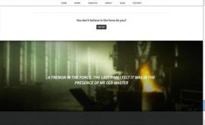 Thème WordPress SCRN