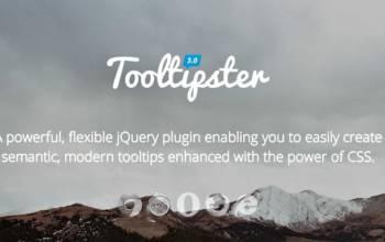 Tooltipster: un joli ToolTip dans mon thème WordPress