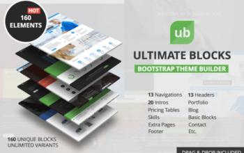 Ultimate Blocks : la boîte à outils Bootstrap pour novices