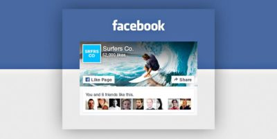 Widget Facebook Like Box : déprécié
