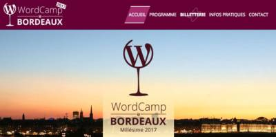 WordCamp : Bordeaux à l'heure WordPress