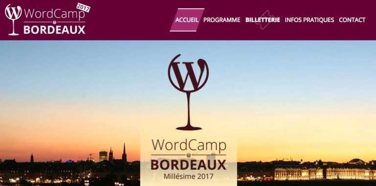 WordCamp: Bordeaux à l'heure <b>WordPress</b>