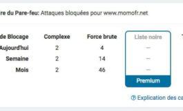 Wordfence 7.0 – Le récapitulatif des blocages sur le site