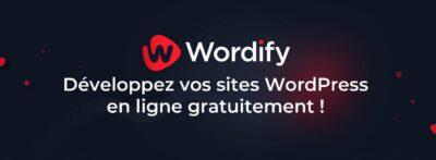 Wordify: développez vos sites WordPress en ligne gratuitement!
