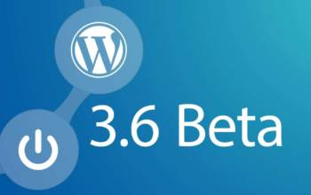 WordPress bêta 3.6 V1