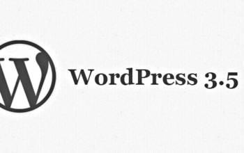 WordPress 3.5: une mise à jour limpide!