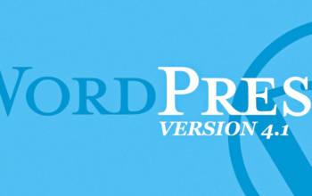 WordPress 4.1: petites retouches et fortifiants