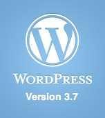 Nouvelle version WordPress 3.7