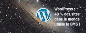 WordPress propulse 40% du web !