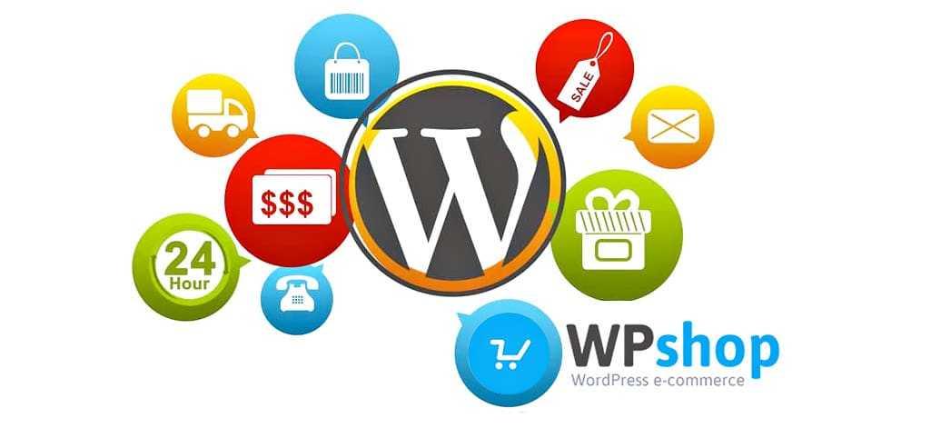 Extension de e-commerce WP-Shop pour WordPress