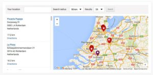 Extension WP Store Locator